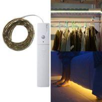 Control Blanche Bande Yk2273 Lumière Youoklight Motionamp; 3w Leds Chaude LampeLongueur1mDc Light 5v Capteur 60 Ruban 5730 Pir Led Smd xdeCWBro