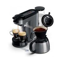 PHILIPS - SENSEO Switch Machine à café à dosettes et filtre grise HD7892/21