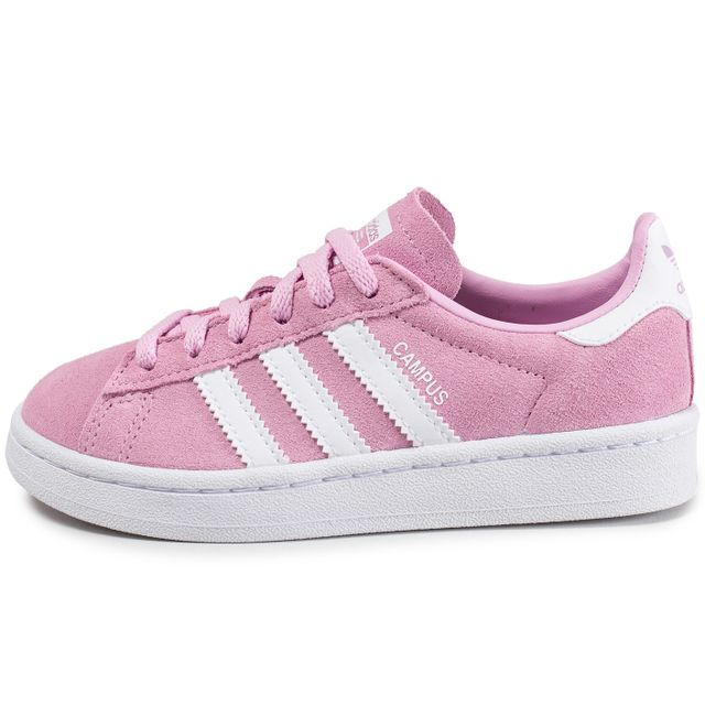 Achat pas Rose Vente originals cher Adidas Campus Enfant qvgwvSY