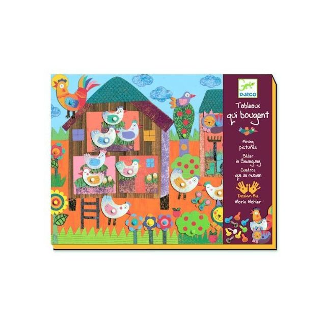 Djeco Moving Pictures Art Kit Small Farm