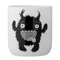 Bloomingville - Pot blanc céramique Monster