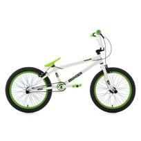 KS CYCLING - BMX Freestyle 20'' Twentyinch blanc-vert