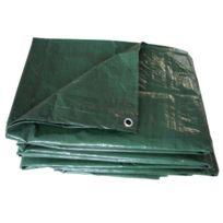 Maillesac - Bâches plates en polyéthylène 100g/m² 5x4m