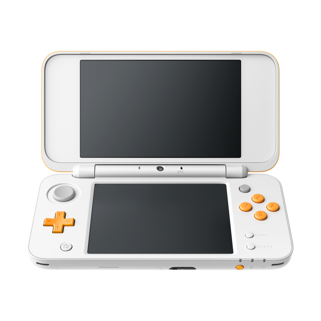 NINTENDO - New 2DS XL Blanc et Orange