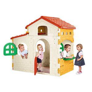 Feber sweet house pas cher achat vente maisonnettes for Casita jardin carrefour