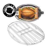 Graniteware - Grille Pour Cocotte Ovale Roaster - Pour Cocotte Ovale Roaster 38 Cm