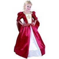 Rire Et Confetti - Ficmou038 - DÉGUISEMENT Pour Enfant - Costume Petite Princesse Mousquetaire Luxe - Fille - Taille L