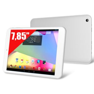 CLUST - Tablette Tactile 7.85'' - Ecran IPS - CL4C07-IPS - 16 Go - Processeur Quad Core Cortex A9 1,6 Ghz RAM 1 Go - Bluetooth 4.0 - Android 4.2 - Blanche