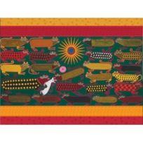 Pomegranate - Huichol Painting: 300 Piece Puzzle