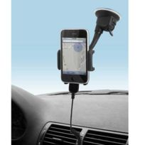 Muvit - Support voiture hybride ventouse et grille Cac iPhone