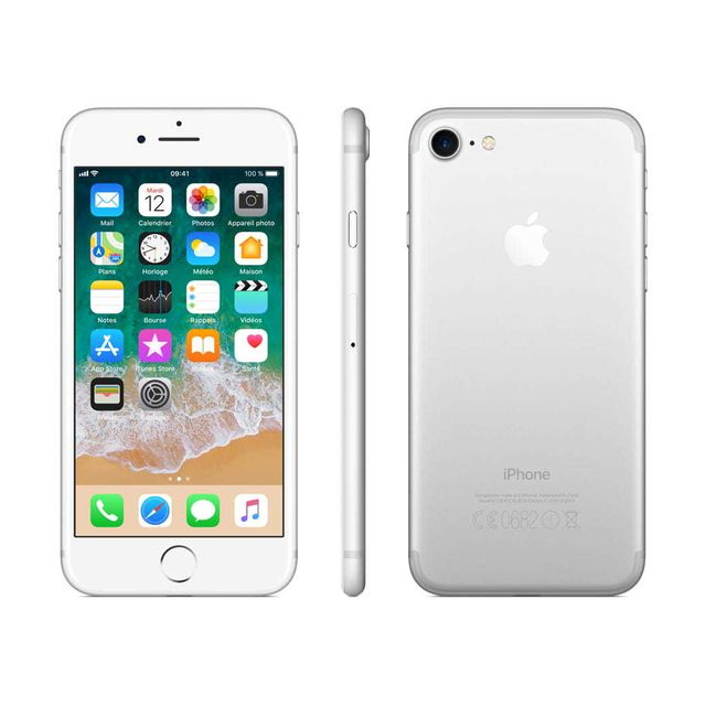 APPLE iPhone 7 - 256 Go - MN982ZD/A - Argent