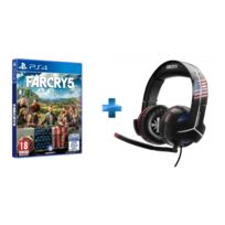 THRUSTMASTER - Pack Casque Y300CPX FAR CRY Edition pour PS4 + Far Cry 5 Jeu PS4