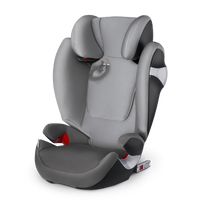 Cybex - Siège-auto groupe 2/3 Solution M-fix - Manhattan Grey
