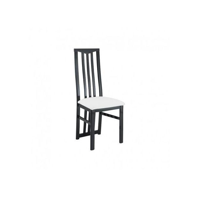 Decodesign Chaise Mony Noir-blanc
