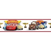 Jemini - Frise repositionnable Champion Cars Disney