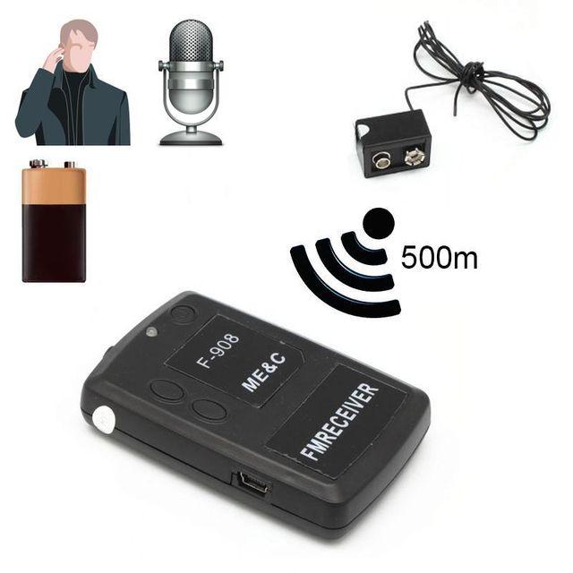 Yonis - Mini Micro espion talkie walkie écoute à distance gratuite