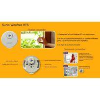 Somfy - Capteur Autonome de luminosité Sunis Interieur Wirefree Rts idem Que L'ARTICLE 2401021