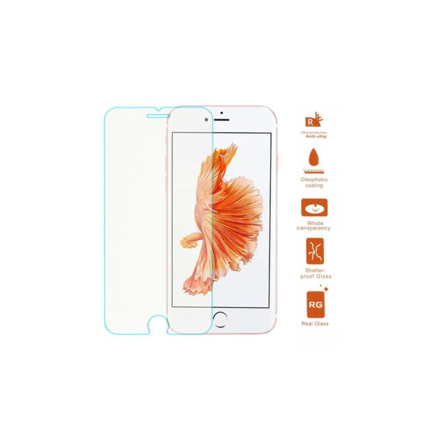 iphone 7 écran de verre amahousse vitre de protection d 233 cran iphone 7 plus verre tremp 233 ultra r 233 sistant pas cher