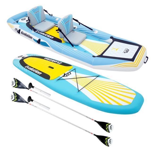 happy garden stand up paddle kayak gonflable 2 en 1 evolution avec 2 pagaies sac de rangement. Black Bedroom Furniture Sets. Home Design Ideas