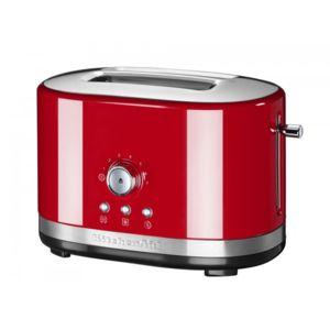 Kitchenaid grille pain 2 fentes 1200w rouge - Grille pain rouge pas cher ...