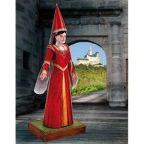 Schreiber-bogen - Maquette en carton : Figurine : Demoiselle du château