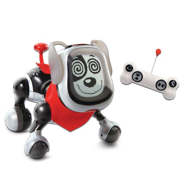 VTECH Chien robot KidiDoggy - noir - 179605