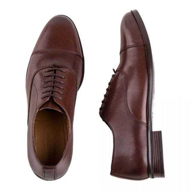 Mason & Freeman Chaussures Richelieu en cuir Elliot Homme