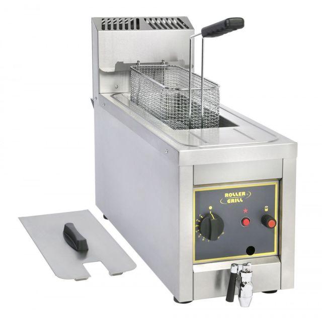 Roller Grill Friteuse Gaz Fri8g - 6kw - 13kg De Frites/h