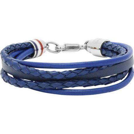 Bracelet homme bleu