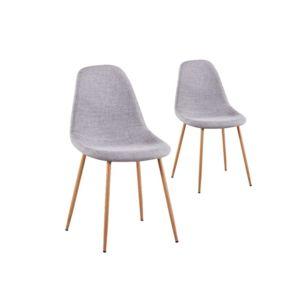 Chaise Avec Pied En Bois Good Chaise Bois Et Tissu Chaise Design