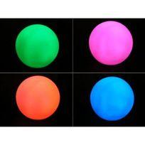 Touslescadeaux - Petite Lampe Sphère Boule Lumineuse Led Veilleuse décoration - Variation de couleur Led