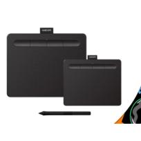 Wacom - Tablette graphique avec stylet Intuos Ctl-4100K Noir