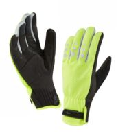 Sealskinz - All Weather Cycle Xp Glove jaune fluo Gants vélo hiver