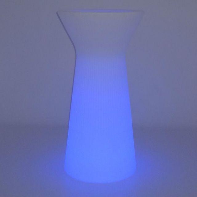 HELGA Lampadaire d'extérieur LED RGB solaire rechargeable