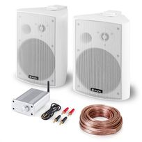 ELECTRONIC STAR - Kit sono HiFi Bluetooth Play WH paire d'enceintes mini ampli Bluetooth câble Electronic-Star