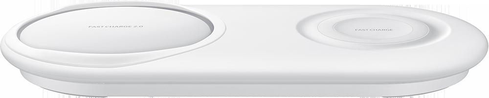 Chargeur sans fil Duo Samsung Blanc