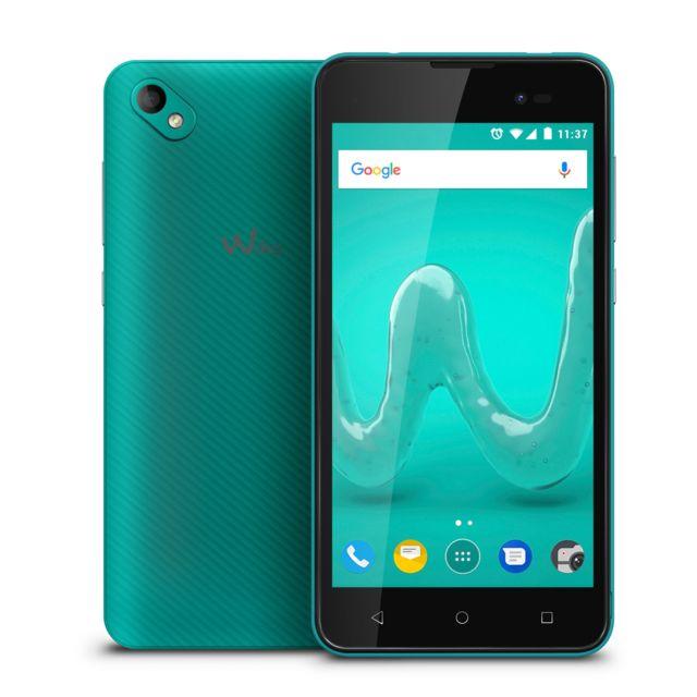 WIKO Smartphone Sunny 2 Plus - 8 Go - Bleu/Vert