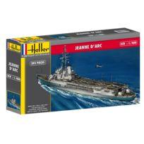 Heller - Maquette bateau Porte-hélicoptères Jeanne d'Arc