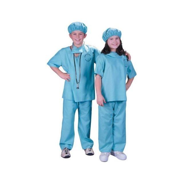 Fun World Doctor Costume Small 4 - 6 Multicolor