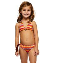 3929c4e4f3 Banana Moon - Maillot de bain Enfant 2 Pièces Triangle Bohosun Kiara Orange