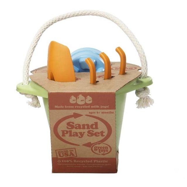 Green Toys Jeu de plage vert