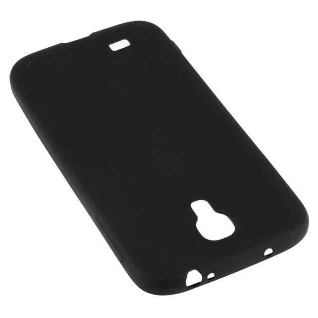 2b3b2f0bb74843 Avizar - Coque Silicone Tpu Gel Souple Samsung Galaxy S4 - Noir Mat ...