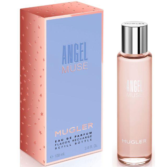 Thierry Mugler Angel Muse 100ml Flacon Recharge Eau De Parfum Pour