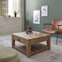 Table Basse Bois Massif Carree Meilleur Produit 2020 Avis