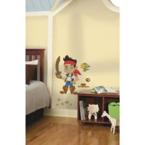 Toy Zany - Stickers Disney Jake Et Les Pirates Géant Roommates Repositionnables 81x53cm