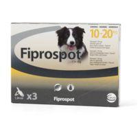 Fiprospot - Fipropost - Traitement Antiparasitaire pour Chien de 10 à 20Kg - x3