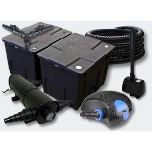 Aqua occaz kit filtration complet 18w fontaine pour for Kit de filtration pour bassin pas cher