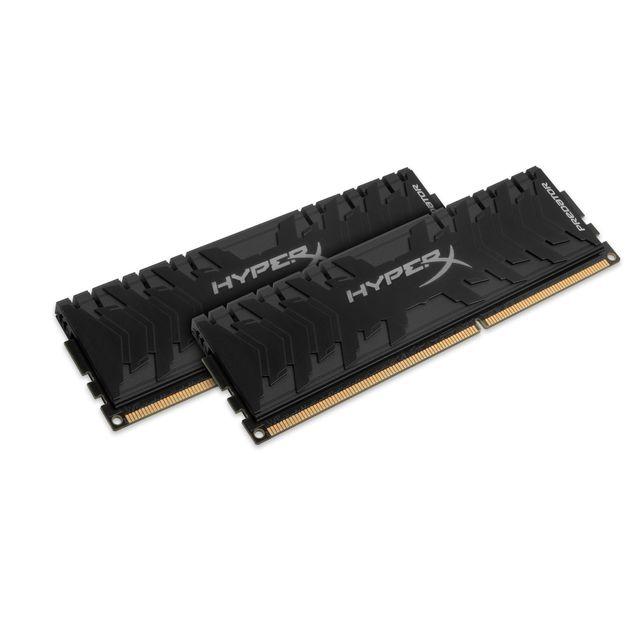 HYPERX - HyperX Predator Black Series 8 Go (2 x 4 Go) - DDR3 2666 MHz Cas 11