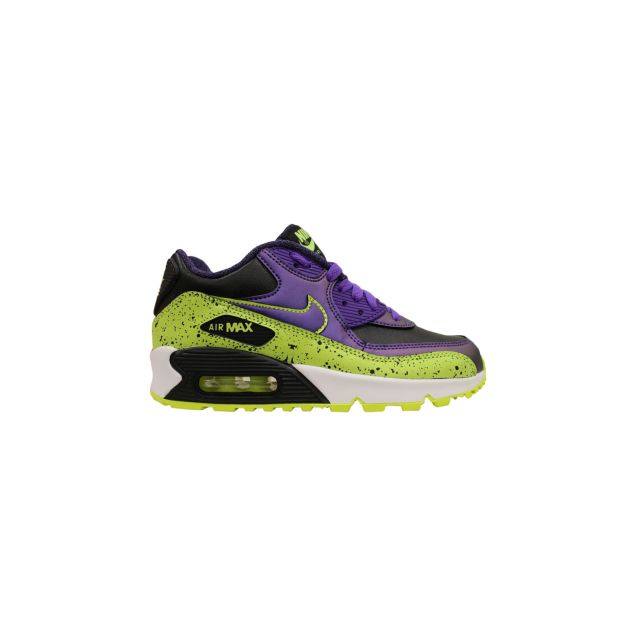 Nike - Basket Air Max 90 Fb Junior Jaune 705392-570