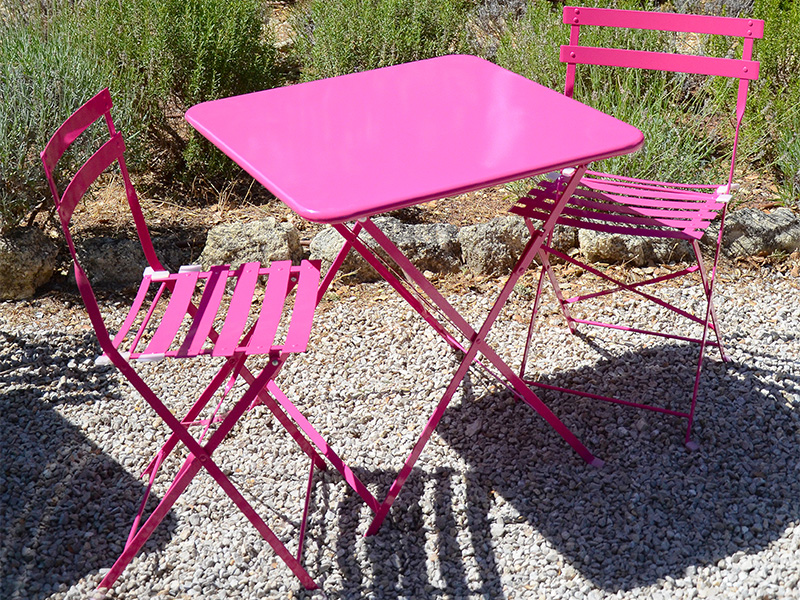 Stunning Table Jardin Aluminium Couleur Ideas - Amazing House ...